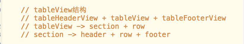 iOS-UI-UITableView -  结构体