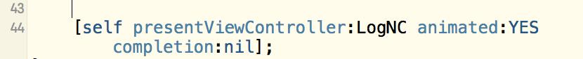 iOS-模态 -上一页(dismiss)-下一页(present)
