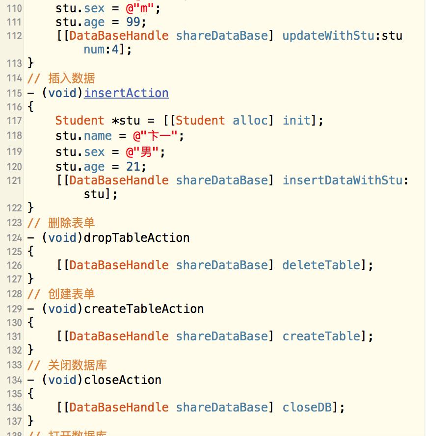 iOS-数据库-FMDB-第三方-插入数据列表-