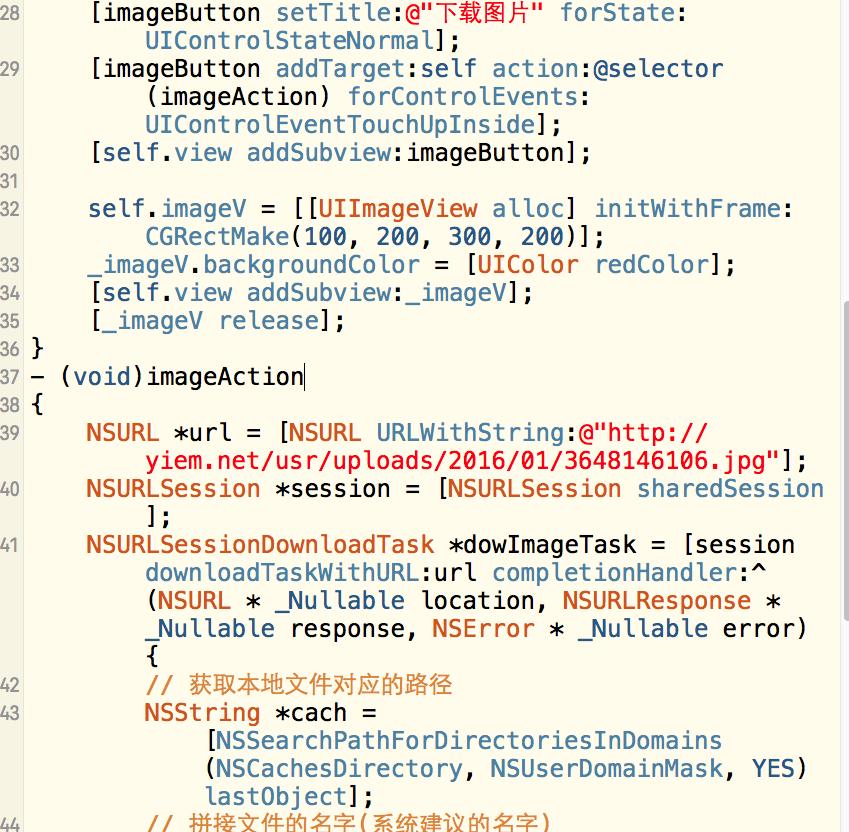 iOS-网络数据请求-异步图片下载