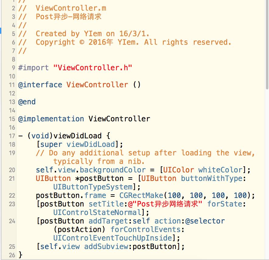 iOS-Post异步-网络请求-网络数据请求