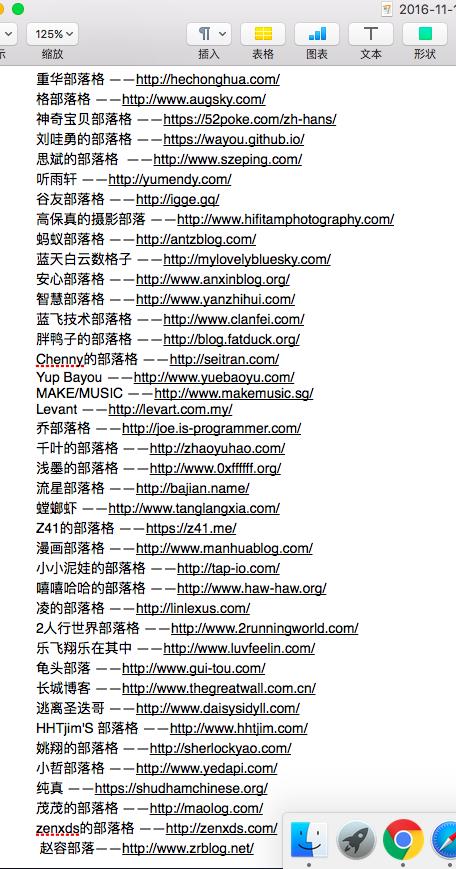 """今天在Google搜索-用关键词 """"部落格"""" 搜索到的一些简体中文独立域名博客!"""