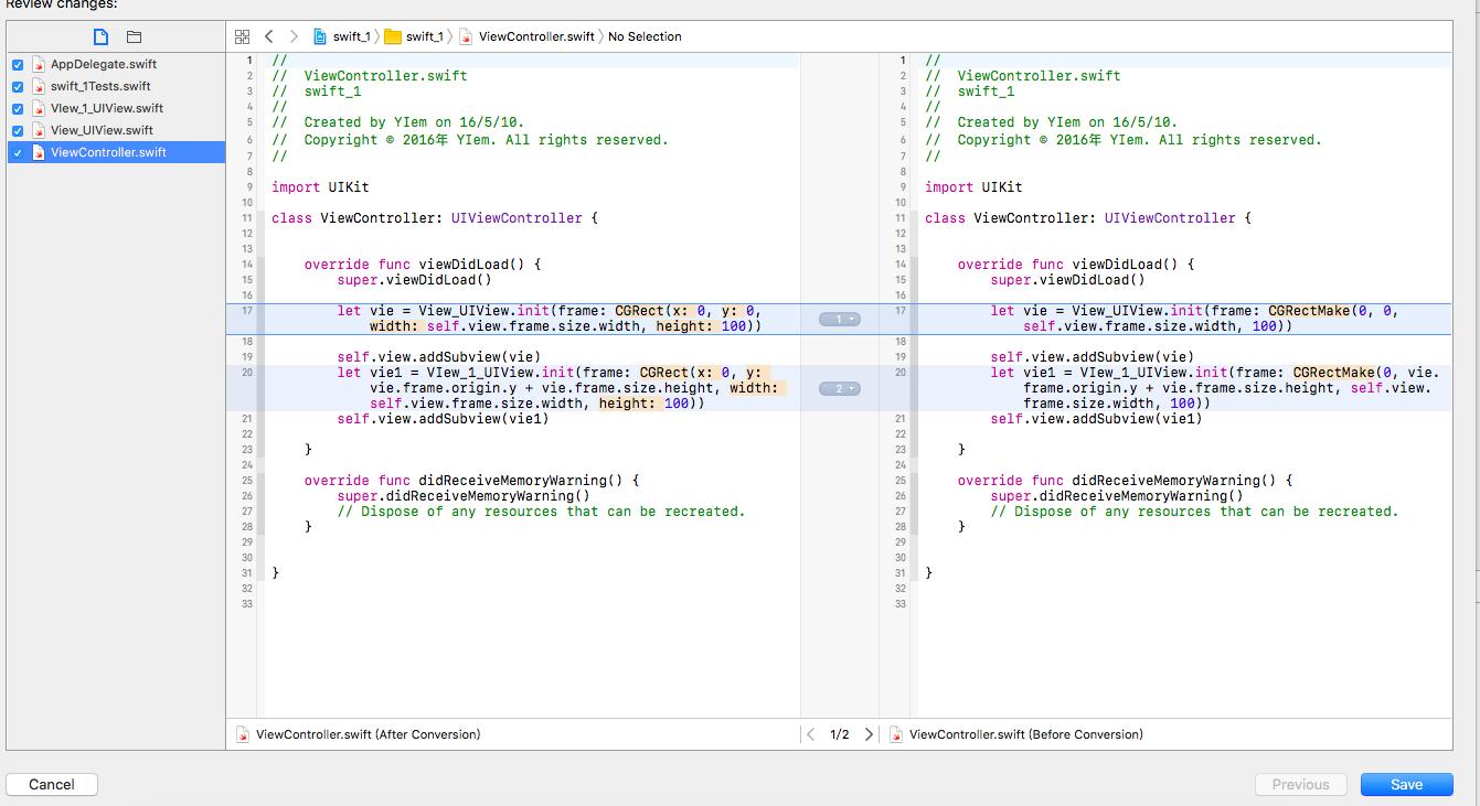 好久没有接触Swift, 好多方法到3.0 都不能用了,看看效果图!