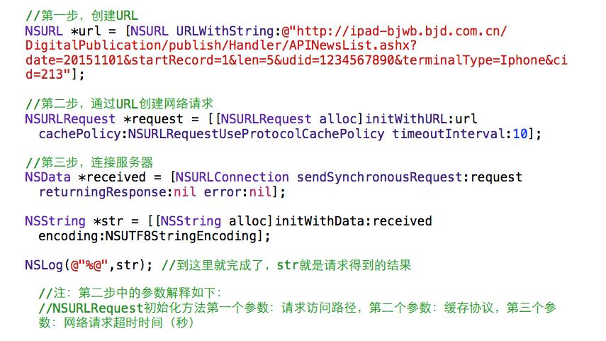 iOS-GET-网络同步请求
