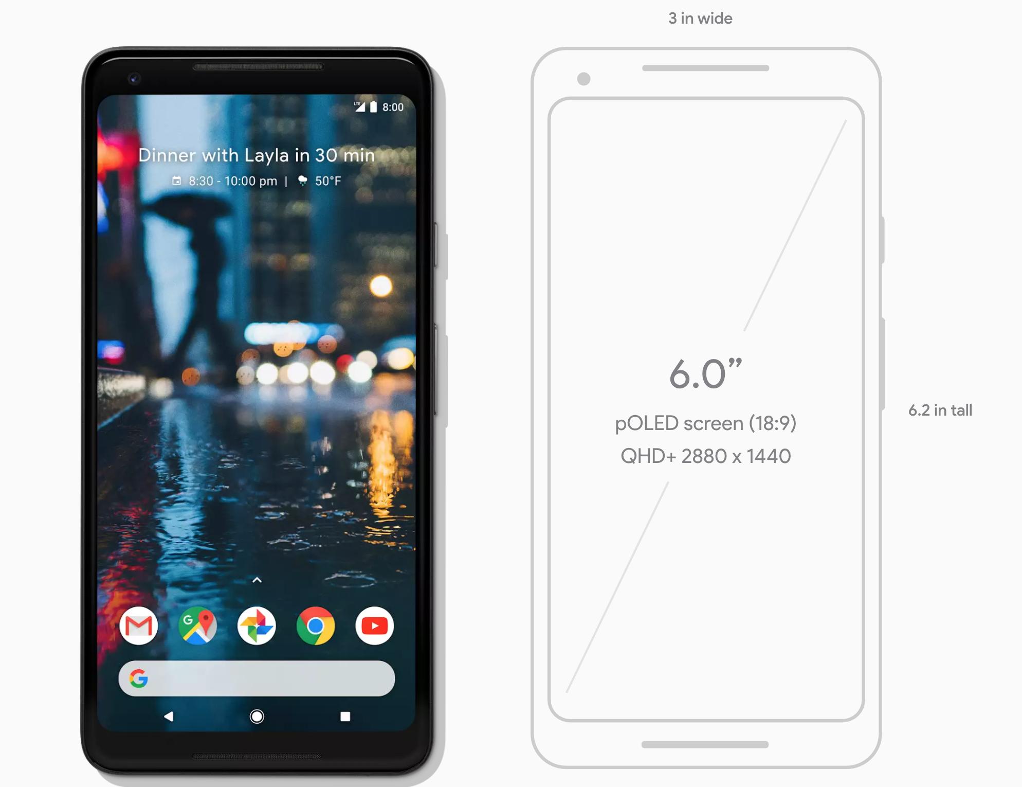 感觉 Google Pixel 2L手机非常棒啊